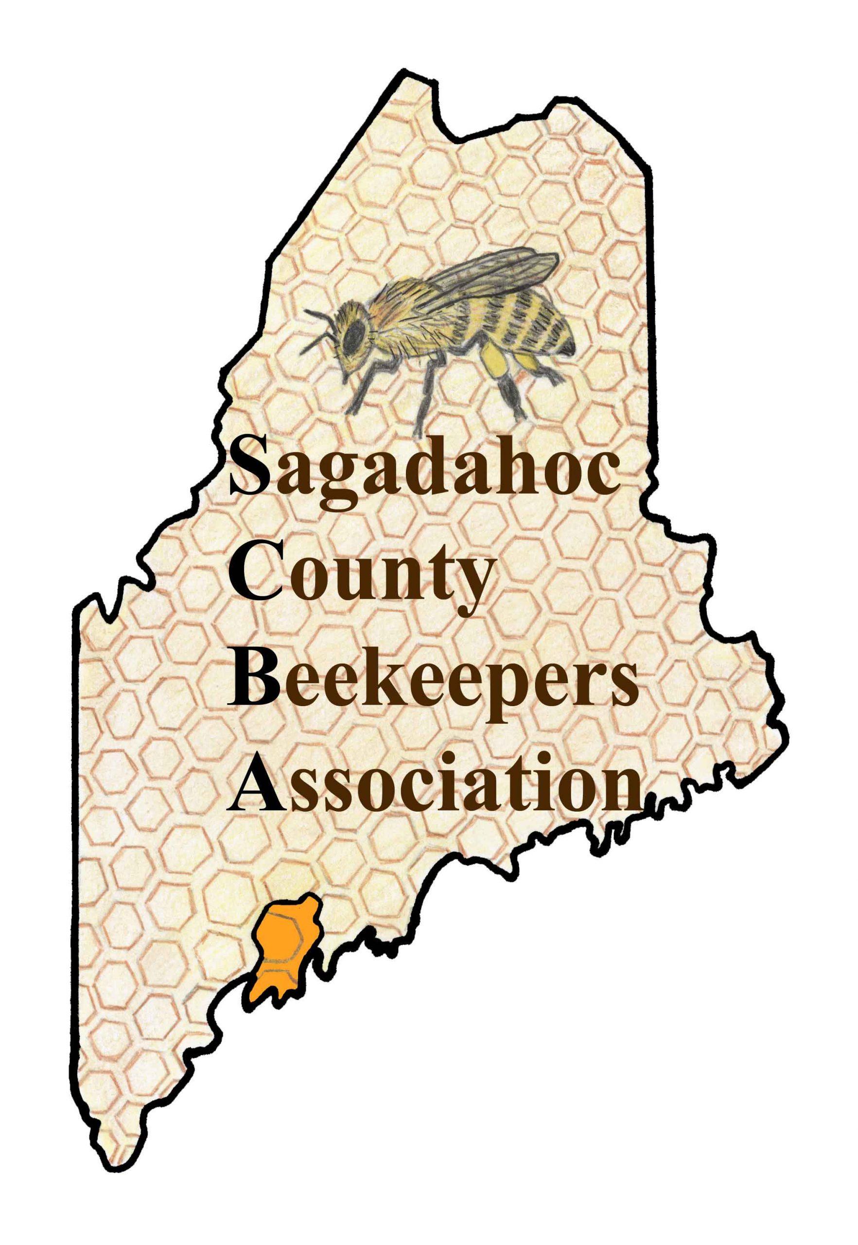 sagadahoc county beekeepers logo